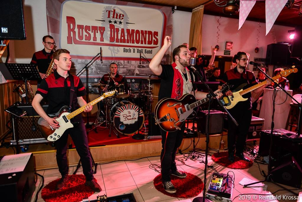 The Rusty Diamonds - Rock N Roll Band